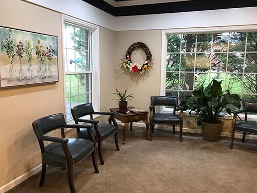 Dickson & Clarksville Dentist Office Lobby